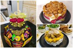 Những chiếc bánh sinh nhật mùa dịch hình dáng trăm năm có một