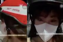 Cô gái lên cầu Trường Tiền, cởi phăng nội y tự quay clip phát lên MXH
