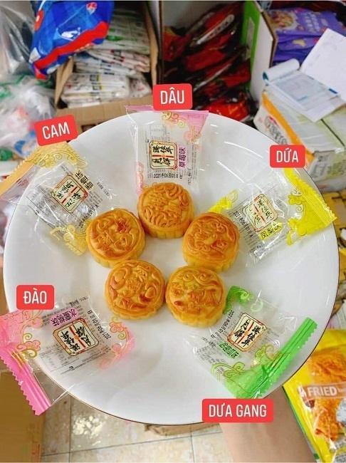 Bánh trung thu mini Trung Quốc bán đầy chợ với giá chỉ từ 3.000 đồng/chiếc-5