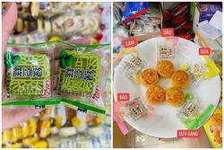 Bánh trung thu mini Trung Quốc bán đầy chợ với giá chỉ từ 3.000 đồng/chiếc