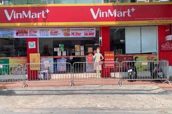 Danh sách siêu thị, cửa hàng Vinmart liên quan chùm Covid-19 mới-1