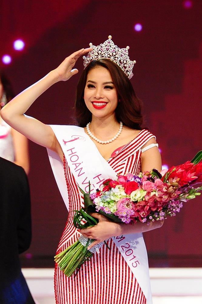 Bức hình Phạm Hương, Kỳ Duyên, Khánh Vân thời còn là đối thủ-10