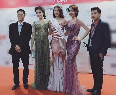 Bức hình Phạm Hương, Kỳ Duyên, Khánh Vân thời còn là đối thủ-11