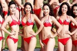 Bức hình Phạm Hương, Kỳ Duyên, Khánh Vân thời còn là đối thủ