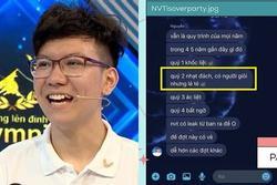 Profile đỉnh của Việt Thái - nam sinh Olympia bị tố coi thường khán giả