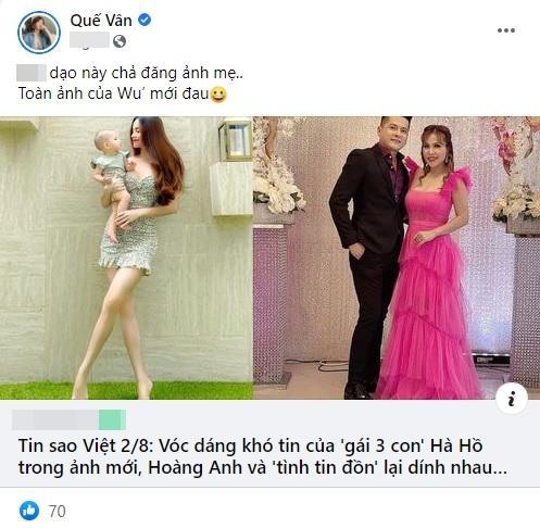 Hồ Ngọc Hà xuất hiện trên Facebook Quế Vân, chuyện gì đây?-1