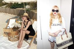 Jessica, HyunA mê mệt mẫu túi xách 'siêu to khổng lồ'