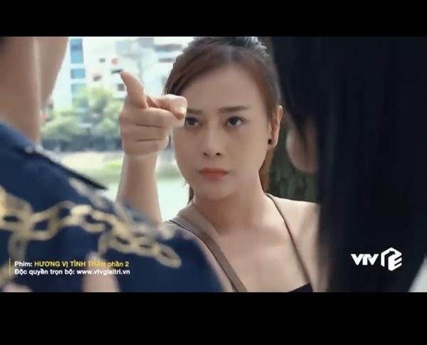 Những cú chỉ tay đừng đùa với chụy của Phương Oanh trên màn ảnh-1