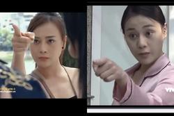 Những cú chỉ tay 'đừng đùa với chụy' của Phương Oanh trên màn ảnh