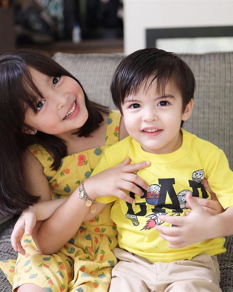 Mỹ nhân đẹp nhất Philippines khoe ảnh 2 con đẹp như tranh vẽ-3