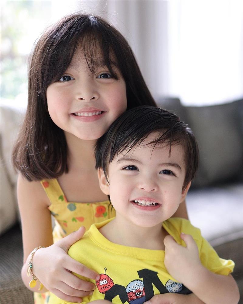 Mỹ nhân đẹp nhất Philippines khoe ảnh 2 con đẹp như tranh vẽ-7