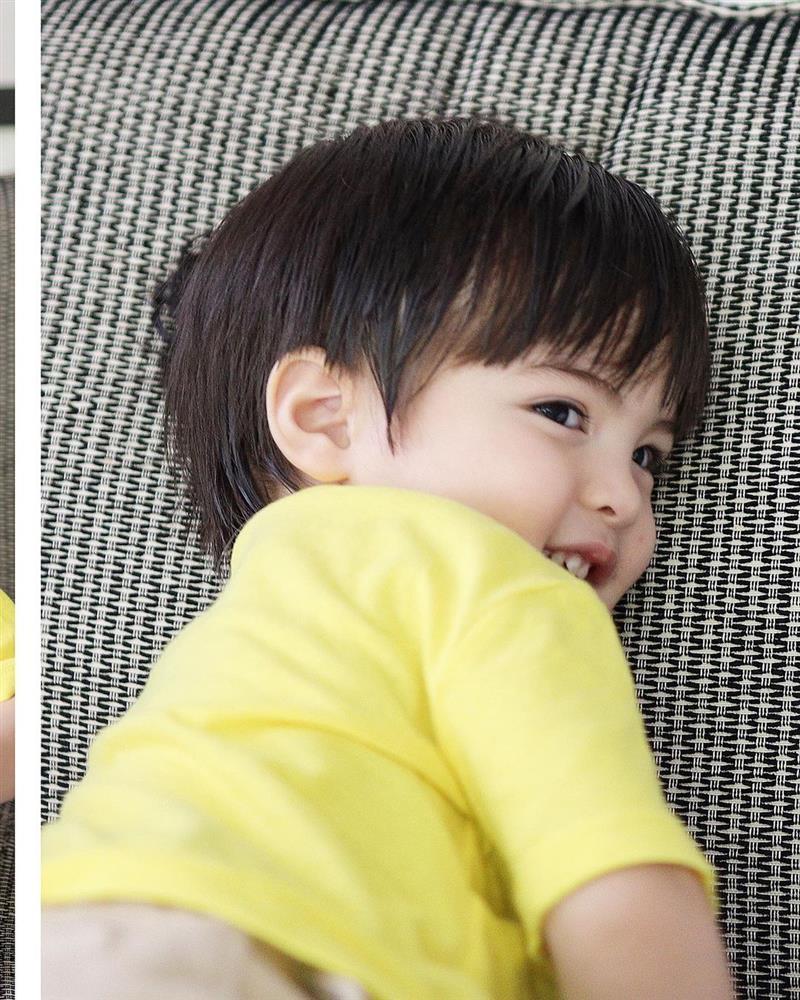 Mỹ nhân đẹp nhất Philippines khoe ảnh 2 con đẹp như tranh vẽ-9