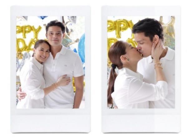Mỹ nhân đẹp nhất Philippines khoe ảnh 2 con đẹp như tranh vẽ-1
