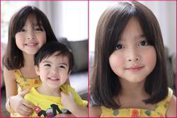 Mỹ nhân đẹp nhất Philippines khoe ảnh 2 con đẹp như tranh vẽ