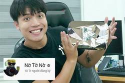Người Việt đầu tiên đạt nút kim cương Youtube có cái tên tranh cãi