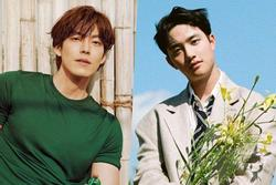 Kim Woo Bin thể hiện 'tình yêu' với EXO D.O.