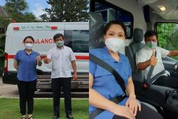 Tặng xe cứu thương bạc tỷ, Việt Hương ngớ người khi bị nói 'tâm ác'
