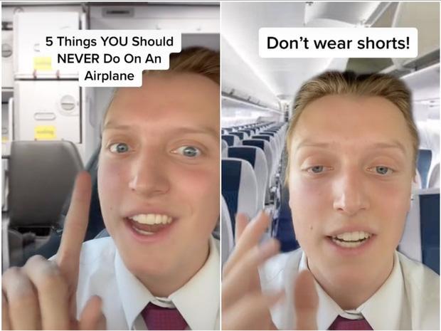 Đừng mặc quần shorts lên máy bay, lời giải thích khiến bạn thấy ớn-1