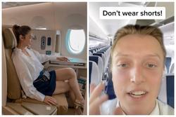 Đừng mặc quần shorts lên máy bay, lời giải thích khiến bạn thấy ớn