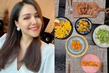 Phanh Lee khoe bữa ăn ở cữ đúng chuẩn phu nhân tập đoàn nghìn tỷ