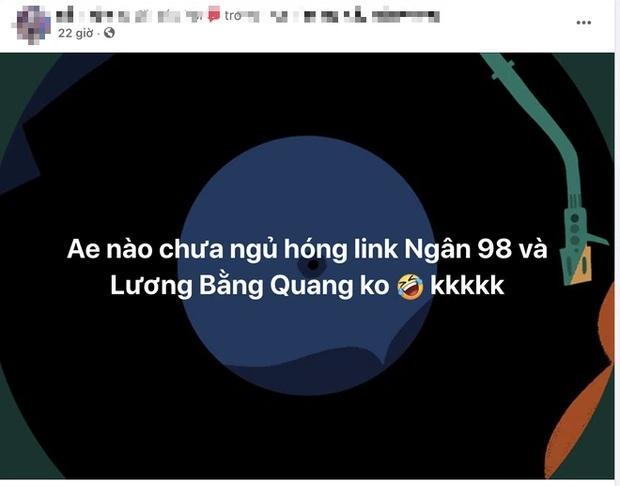 Thực hư về đoạn clip mây mưa của Lương Bằng Quang - Ngân 98-3