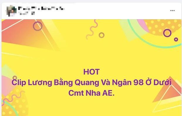 Thực hư về đoạn clip mây mưa của Lương Bằng Quang - Ngân 98-4