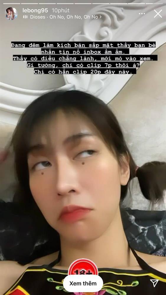 MXH náo loạn hot girl Lê Bống lộ clip nóng dài 2 phút-3