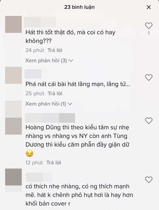 Khán giả nhận xét Tùng Dương gào thét khi cover hit Nàng Thơ-4