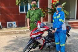 Nữ công nhân môi trường bị cướp xe máy được tặng xe mới