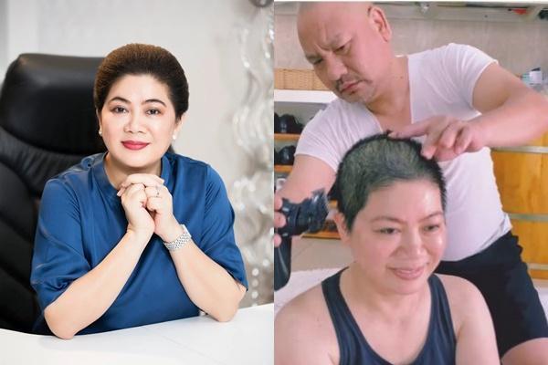 Bà xã Á hậu hé lộ mối quan hệ giữa Shark Hưng với bố vợ-5