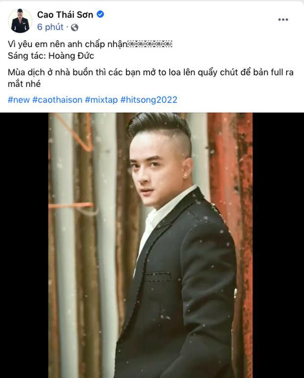 Cao Thái Sơn tung demo ca khúc mới, Nathan Lee lập tức chốt hạ-2