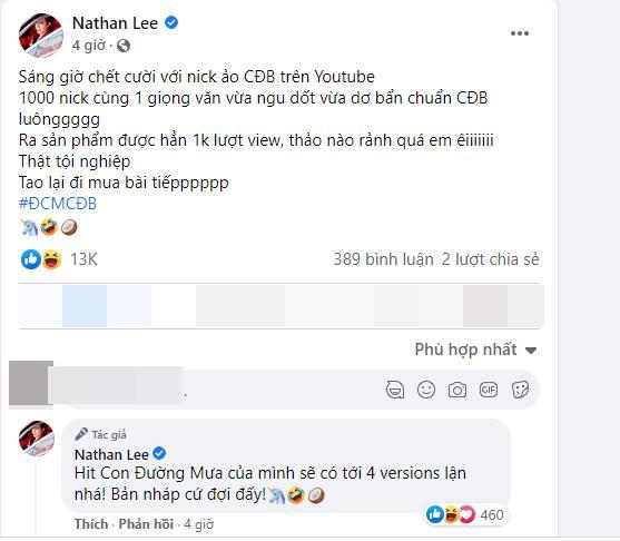 Cao Thái Sơn tung demo ca khúc mới, Nathan Lee lập tức chốt hạ-3