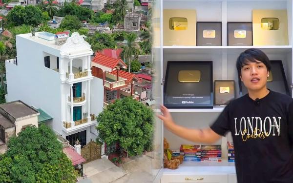 Dinh cơ 4 tỷ to vật của Youtuber vừa đạt nút kim cương ở Thái Bình-5