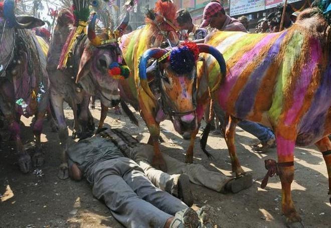Những lễ hội kỳ quái của người Ấn Độ khiến du khách rợn tóc gáy-5