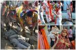 Ấn Độ: 6 bé gái bị bắt lột trần làm nghi lễ cầu mưa kỳ lạ-2