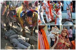 Những lễ hội kỳ quái của người Ấn Độ khiến du khách 'rợn tóc gáy'