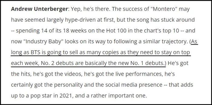 Phó tổng biên tập Billboard phát ngôn gây tranh cãi về BTS-2