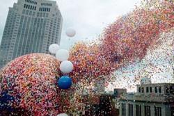 Thảm họa 35 năm trước vì 1,5 triệu quả bóng bay