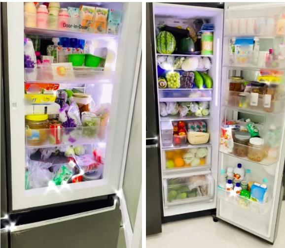 Chiếc tủ lạnh chuẩn đại gia mùa dịch: Giá gần 50 củ, đồ ăn chất như núi!-2