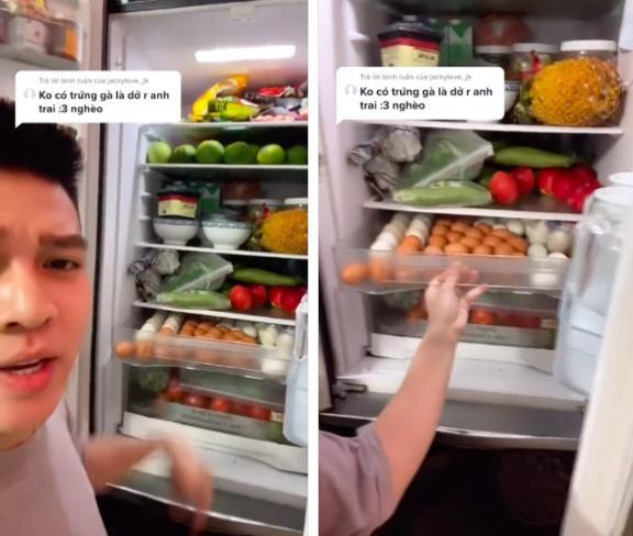 Chiếc tủ lạnh chuẩn đại gia mùa dịch: Giá gần 50 củ, đồ ăn chất như núi!-5