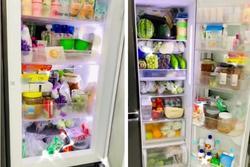 Chiếc tủ lạnh chuẩn 'đại gia' mùa dịch: Giá gần '50 củ', đồ ăn chất như núi!
