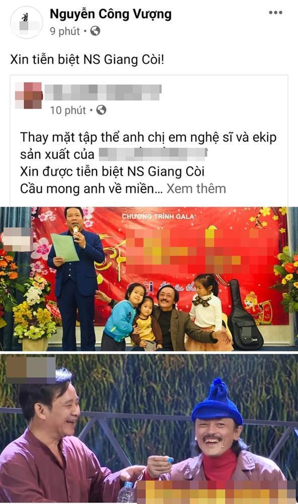 Đồng nghiệp bàng hoàng khi nghệ sĩ Giang Còi qua đời-3