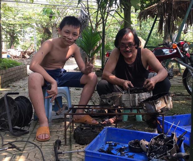 Nghệ sĩ Giang Còi: Ông gà trống nuôi 4 con suốt hơn 20 năm-10