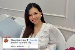 Phanh Lee khoe nhan sắc 1 tuần sau sinh, bạn bè trêu 'đẻ tiếp đi'