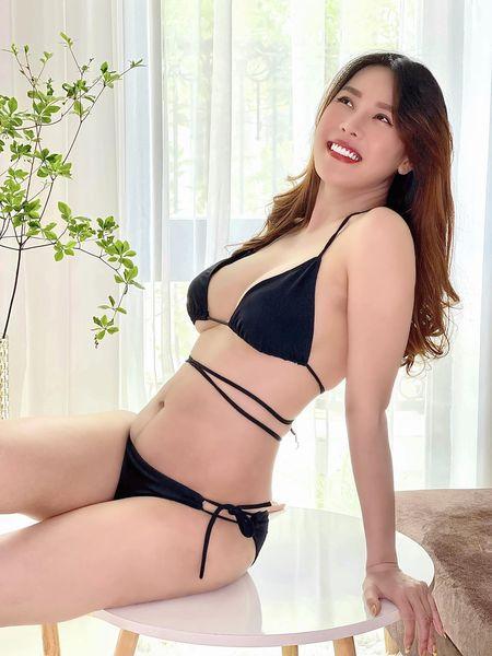 Nôn khoe body 1 tháng sau sinh, Quế Vân bị soi photoshop quá đà-1
