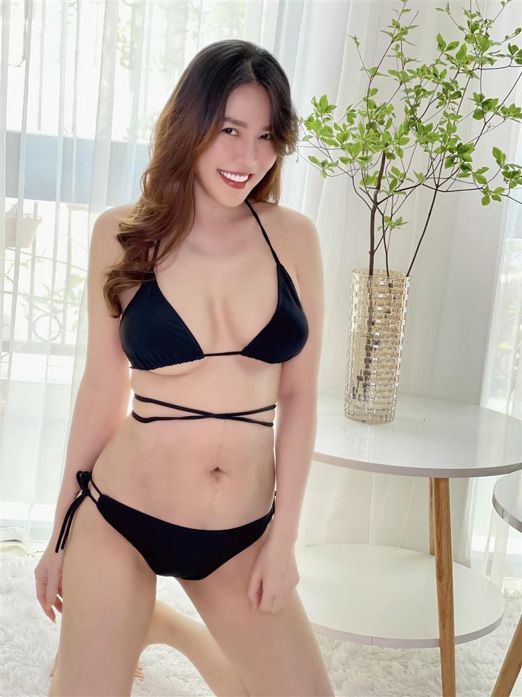 Nôn khoe body 1 tháng sau sinh, Quế Vân bị soi photoshop quá đà-4