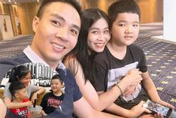 MC Hoàng Linh dành tình cảm ra sao với con riêng của chồng?