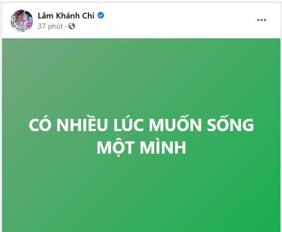 Dân mạng nhốn nháo khi Lâm Khánh Chi muốn sống một mình-2