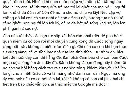 Tình chuyển giới của Miko Lan Trinh bị ném đá bài đăng sinh sản-2
