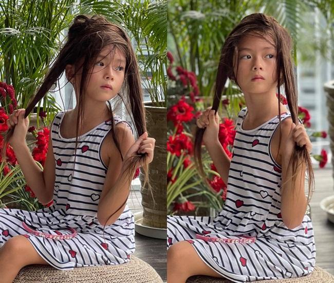 Con gái Đoan Trang tạo dáng xuất thần, xả dáng vẫn đẹp như thơ-10